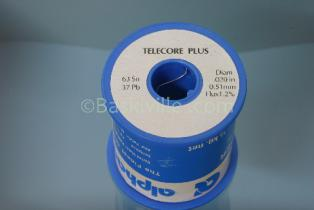 Telecore Plus Solder Wire 0.51mm (63/37) Tin/Lead 500G