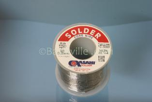 Asahi Solder 2% Silver 0.25 mm Wire, 200grm Roll
