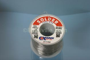 Asahi Solder 2% Silver 0.5mm Wire, 250grm Roll