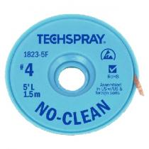 TechSpray NoClean Solder Wick A/S 2.5mm,#4 Blue,30m