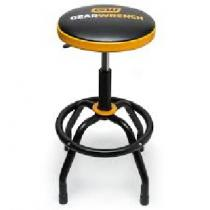 Adjustable Height Swivel Shop Stool