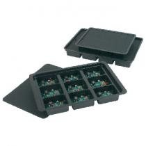 ProtektivePak Kitting Tray 9 Cell, 368 x 257 x 25mm