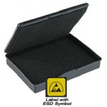 Vermason Rigid Conductive Box with Foam in Lid and Base, 230mm x 128mm x 20mm