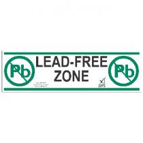Desco Tape Aisle Marking Lead-FreeZone 3 In x 52Ft