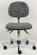 Esd Grey Fabric Chair, Qty x 10