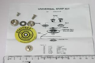 Desco Stud Snap Kit For Mat Screw Type