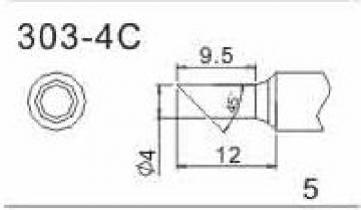 Quick Soldering Tip for 202D - 303-4C