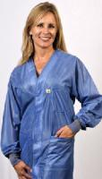 Hallmark, OFX-100, Blue Hip-length Jacket w/ Cuffs, Small