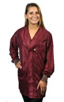 Hallmark, OFX-100, Burgundy Hip-length Jacket w/ Cuffs,  XL
