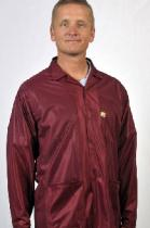 Traditional OFX-100, Burgundy, Hip-length Jacket w/Key, Large