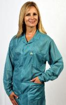 Traditional OFX-100, Teal, Hip-length Jacket w/Key, Large