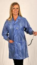 Sterling OFX-100, Blue Knee-Length Coat w/ Cuffs, 4XL