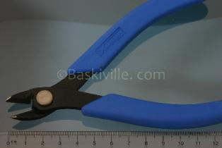 Side Cutters, Oval, up to 2mm wire & 7mm cable ties, Flush