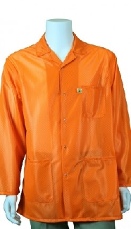 Traditional OFX-100, Orange HiVis, Hip-length Jacket, Medium
