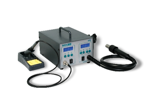Quick, 712, 2 Channel,  Hot Air & Soldering Station & Spares
