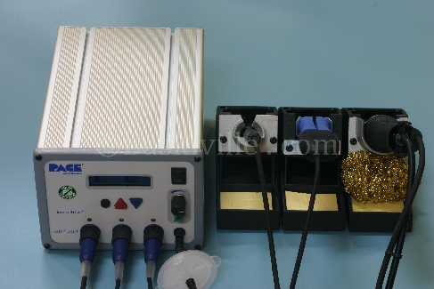 Pace, MBT350, 3 Channel Soldering & Desoldering Station, Handpieces & Spares