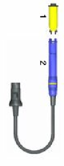 Hakko FM2028 soldering iron handpiece, tips and spares