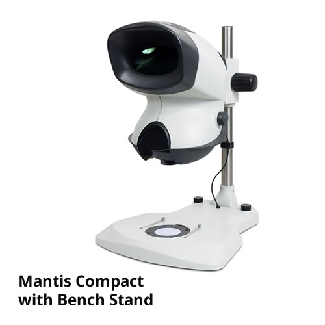 Vision Mantis Compact Head c/w Elite Bench Stand