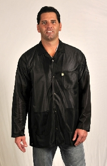 Traditional OFX-100, Black Hip-length Jacket,  XL